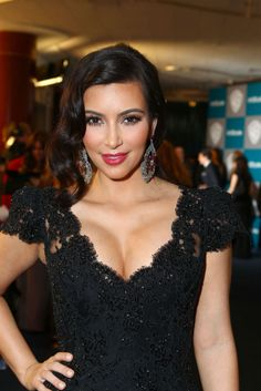 100 looks beauty para estas fiestas, Kim Kardashian