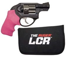 Ruger LCR-P 38 Special Revolver in Pink. for that just in case reason