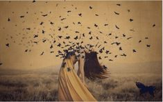 the sound of flying souls, part 2 - brooke shaden photography Artistic Photography, Fine Art Photography, Fotografia Fine Art, Image Citation, Surreal Photos, Cool Sketches, Creative Portraits, Pics Art, Photo Illustration