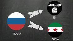 """La guerra en Siria se ha convertido en un complejo """"todos contra todos"""" de gobierno, rebeldes, islamistas y potencias extranjeras. Te explicamos de forma sencilla quién es aliado y enemigo de quién en este conflicto de Medio Oriente."""