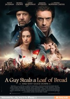 Les Miserables in a nutshell.