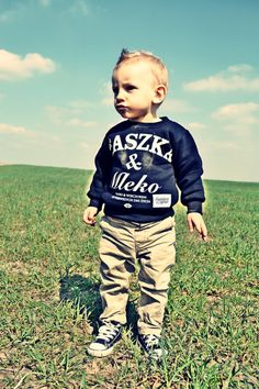 'Kaszka & Mleko' - Bluza BK - Czarna