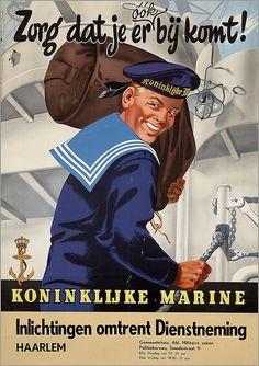 Op 17-jarige leeftijd begonnen aan een mooi avontuur bij de Koninklijke Marine. Vijf jaar lang veel van de wereld gezien en over de wereld geleerd.
