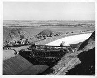"""Grand Coulee Dam Area Excavation"" by Bureau of Reclamation"