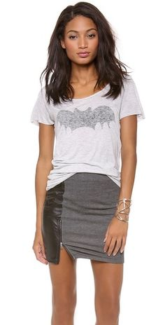 perfect time of year to wear a Bat Tee!  Zoe Karssen, Shopbop.