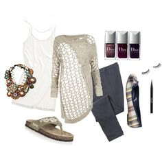 a relaxed outfit with a few a pieces to jazz it up if I get that lunch date call. Relaxed Outfit, Jazz, Stylists, Lunch, Shoe Bag, My Style, Polyvore, How To Wear, Stuff To Buy