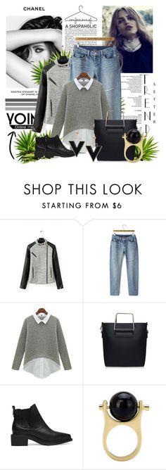 """Yoins 28"" by fashion-addict35 ❤ liked on Polyvore featuring Chanel, women's clothing, women, female, woman, misses and juniors"
