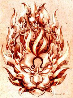 LEO by Gorgoncult.deviantart.com on @DeviantArt