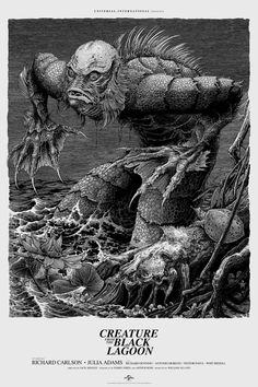 'Creature From the Black Lagoon' by Brandon Holt