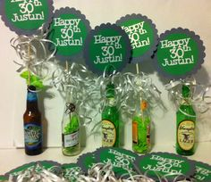30th Birthday  Centerpiece Signs with Personalized by FromBeths, $9.50