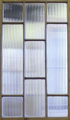 TV room closet door- texture and privacy - Modernist Door with Reeded Glass Door Texture, Glass Texture, Reeded Glass, Kitchen Pantry Doors, Fiberglass Entry Doors, Glass Partition, Privacy Glass, Glass Blocks, Glass Panels