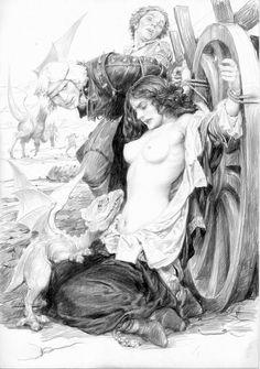 Sword of Destiny Illustrations by Denis Gordeev - Album on Imgur