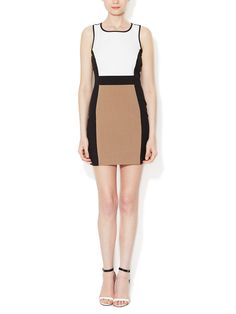 Colorblock Sheath Dress by Ava