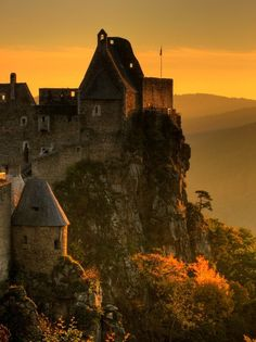 Castle Aggstein, Áustria