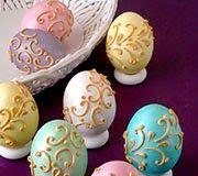 Η ΛΙΣΤΑ ΜΟΥ: Πασχαλινές κατασκευές!!! Royal Icing, Easter Eggs, Crafts, Food, Craft Ideas, Manualidades, Meals, Handmade Crafts, Diy Crafts