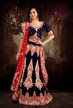 Designer Wedding and Party Lehenga. Buy any #Indian #Designer #Lehenga Get Free Shipping World-Wide.