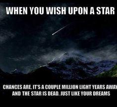 Hahahaha JUST like your dreams
