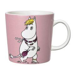 "Pin for Later: 45 Gifts That Say ""You're My BFF"" Iittala Finland Arabia Snorkmaiden Moomin Mug Moomin Shop, Moomin Mugs, Porcelain Mugs, Ceramic Cups, Ceramic Tableware, Moomin Valley, Tove Jansson, My Collection, Tea Mugs"