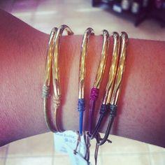 @Salon jean and day spa dogeared balance leather bracelets