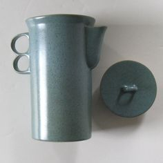 Midcentury Modern David Gil RARE 1398 Trigger Handle Coffee Pot Bennington 1950s   eBay