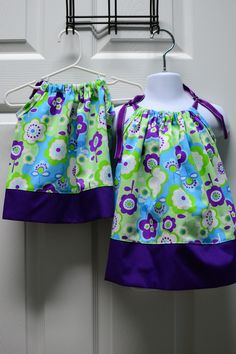 Matching pillowcase dresses for the girls