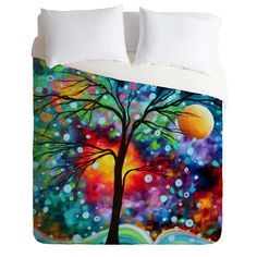 Madart Inc. A Moment In Time Duvet Cover | DENY Designs Home Accessories