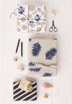 Christmas Holiday Wrapping Ideas from Minted. See the full gift wrap guide now.