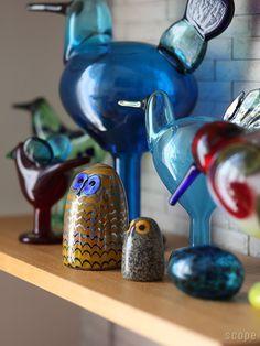 iittala (イッタラ) / Birds by Oiva Toikka (バード バイ オイバ・トイッカ) Owlet