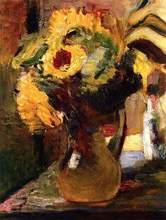 Bouquet of Sunflowers / Henri Matisse - 1898