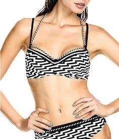 Marlies Dekkers: Zebra Rock underwire Balcony bikini top 32 - 36B to F, 38 + 40D & E at Bare Necessities