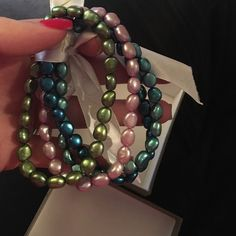 Honora pearl bracelets Never worn honora pearls. No trades please Honora  Jewelry Bracelets