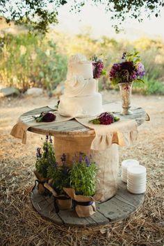 bolo mesa madeira