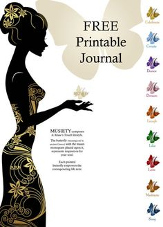 FREE Printable Journal   www.musiety.com