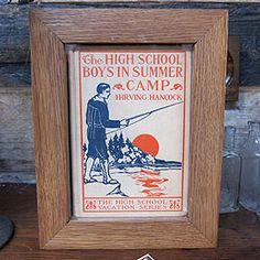 Framed Book - Summer Camp