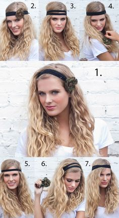 Zipper headband.  How cute it that?!?