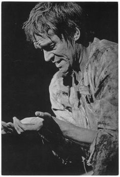 Scoffield considered his, Timons of Athens,  one of his most fascinating roles,  in a rarely produced production of this tragedy (1965) at Stratford-upon-Avon.