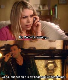 Hahaha I loved this line! :) More reasons why 9 is completely under-appreciated.