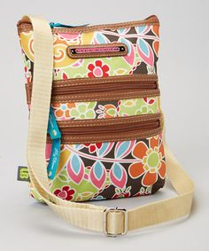Caravana Mini Multi-Section Crossbody Bag by Lily Bloom http://www.zulily.com/?SSAID=930758&tid=acceleration_930758 #zulily #zulilyfinds