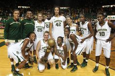 2011-2012 Baylor Bears women's basketball team, 2012 NCAA Women's Basketball Champions - My daughter went to Baylor and my granddaughter is going next year.  They are so proud of this team!