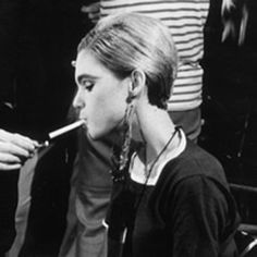 Edie Sedgwick  - a  muse of Andy Warhol  in the 1960's