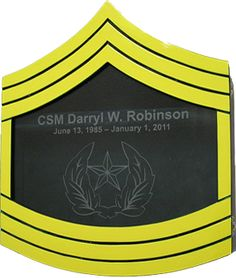 US Army Shadow Box E9 Painted for $349.95 || #military shadow box customized is available at MilitaryPlaques.com