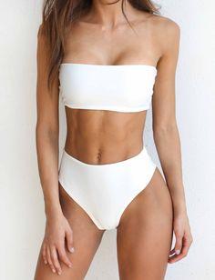Solange Bikini - White
