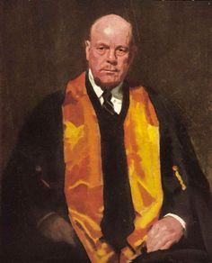 Max Meldrum: Dr J. Forbes McKenzie :: WINNER Archibald Prize 1940 :: Art Gallery NSW