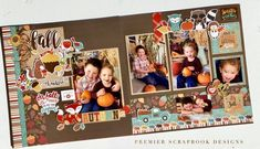 Specializing in pre-designed & pre-cut scrapbooking, cardmaking and paper crafting kits Ideas Scrapbook, Christmas Scrapbook Layouts, Scrapbook Layout Sketches, Halloween Scrapbook, Birthday Scrapbook, Scrapbook Designs, Scrapbook Paper Crafts, Scrapbook Supplies, Scrapbooking Layouts