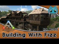 Captivating ARK:Survival Evolved Building W/ Fizz :: Swamp Base Build (No Mods