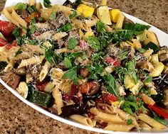 Farmers market pasta is the best pasta you will ever eat! An easy quick dinner or lunch recipe with the flavor of bacon and fresh veggies! This summer recipe is a great way to use up all the vegetables you find at the local market. Fresh food, healthy eating, clean eating, clean recipes, healthy recipes, basil recipes, summer recipes, spring recipes, squash, zucchini, tomatoes, tomato, ziti, spaghetti, eggplant, leftovers, leftovers recipe, cooking video, vlog, food video, recipe video