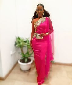 African Bridesmaid Dresses, African Wedding Dress, Unique Ankara Styles, Traditional Wedding Attire, Pink Gowns, Formal Dresses, Wedding Dresses, Long Dresses, African Fashion