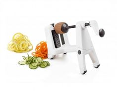 When your role involves taking care of others, having time to get everything done, especially in a healthy way, can be a challenge! Our Ricardo Spiralizer ($39.99) will help make sure meals with tons of vegetables are quick and easy to prep with its 3 cutting settings!