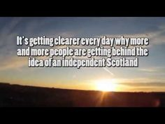 Scottish Independence: Let's Vote YES
