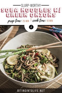 Forget traditional pasta or ramen. These high-protein soba noodles are bursting flavors and healthy nutrients. Try them now! #vegan #glutenfree Quick Vegan Meals, High Protein Vegan Recipes, Vegan Recipes Plant Based, Vegan Lunch Recipes, Veggie Recipes, Vegan Noodles Recipes, Vegan Pasta, Noodle Recipes, Pasta Recipes